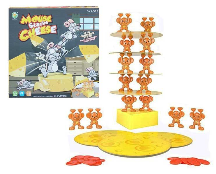 toko mainan online MOUSE STACKS CHEESE - 1275