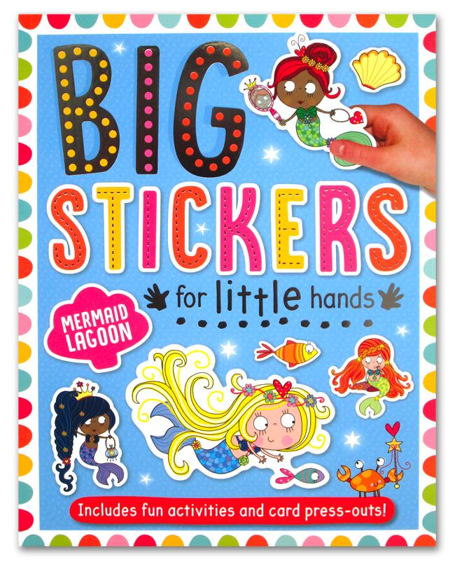 toko mainan online BIG STICKERS MERMAID - 430678
