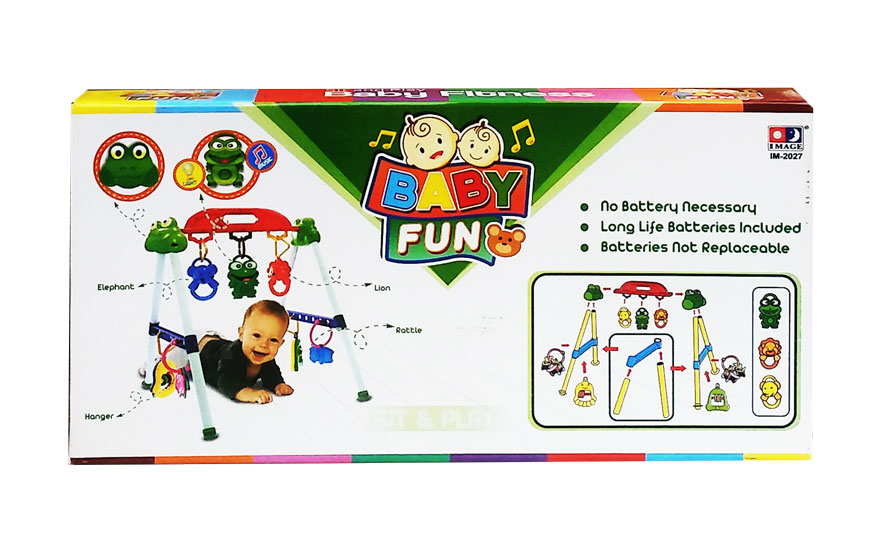 toko mainan online SIT AND PLAY BABY FITNESS MUSICAL PLAYGYM - 2027