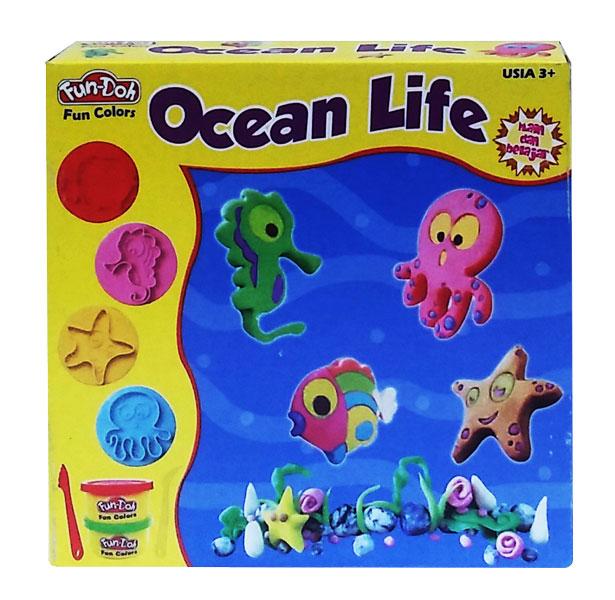 toko mainan online Ocean Life Doh (gr6) - 28035