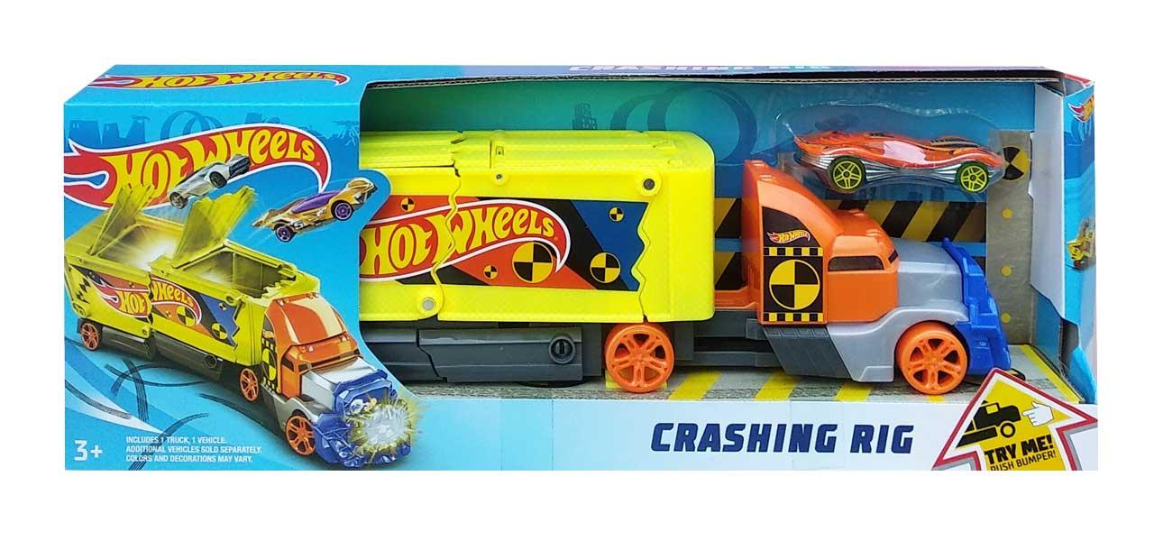 toko mainan online HOT WHEELS CRASHING RIG - GCK39
