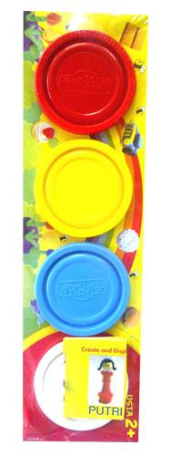 toko mainan online DOUGH WARNA 4PC