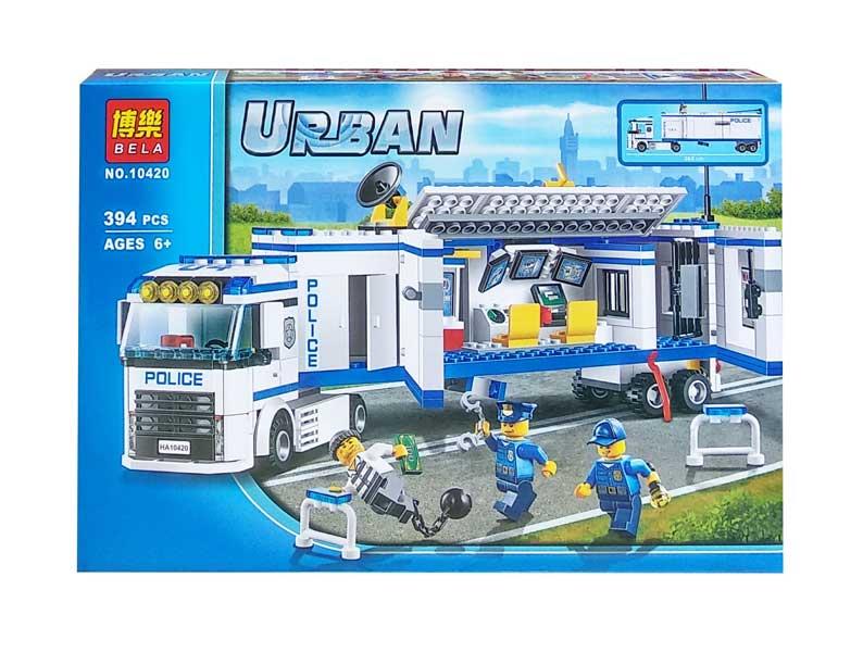 toko mainan online BELA URBAN POLICE 394PCS - 10420