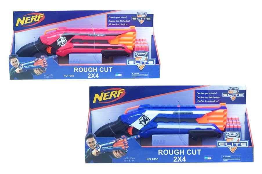 toko mainan online NERF ROUGH CUT 2X4 - 7055