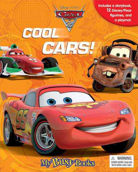 toko mainan online MY BUSY BOOK CARS2 COOL CARS