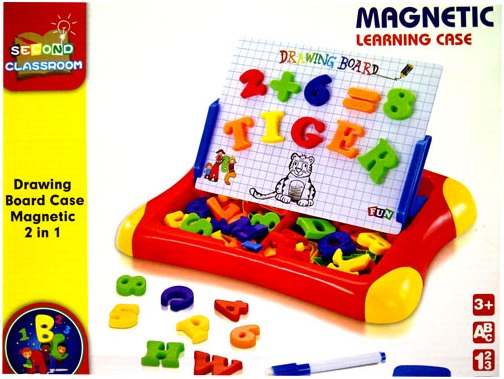 toko mainan online MAGNETIC LEARNING CASE qj-5580